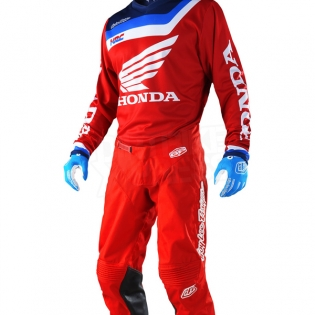 Troy Lee Designs GP Air Kit Combo - Prisma Honda Red Image 2