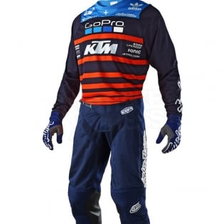 Troy Lee Designs GP Air Kit Combo - Streamline Team Navy Orange Image 2