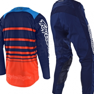 Troy Lee Designs GP Air Kit Combo - Streamline Team Navy Orange Image 3