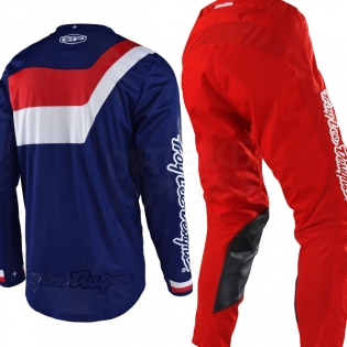 Troy Lee Designs GP Air Kit Combo - Prisma Navy Red Image 3