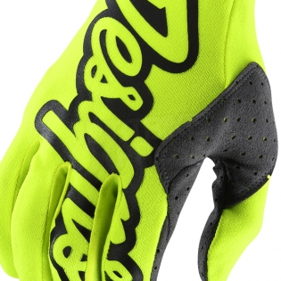 Troy Lee Designs SE Gloves - Solid Flo Yellow Image 2