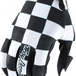 Troy Lee Designs GP Air Gloves - Checker Black White Image 2
