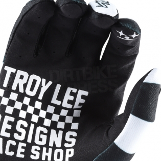 Troy Lee Designs GP Air Gloves - Checker Black White Image 4