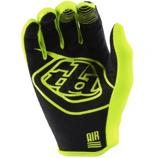Troy Lee Designs Air Kids Gloves - Solid Flo Yellow Image 3