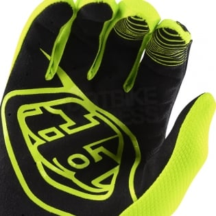 Troy Lee Designs Air Kids Gloves - Solid Flo Yellow Image 4