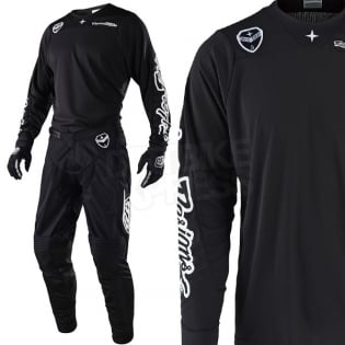 Troy Lee Designs SE Air Jersey - Solo Black Image 2