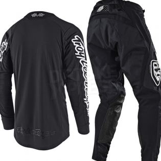 Troy Lee Designs SE Air Jersey - Solo Black Image 3
