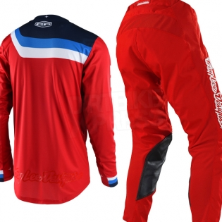 Troy Lee Designs GP Air Jersey - Prisma Honda Red Image 3
