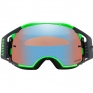 Oakley Airbrake MX Goggles - Shockwave Blue Green Prizm