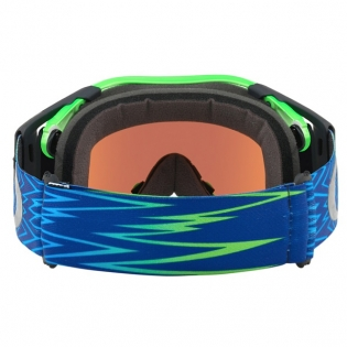 Oakley Airbrake MX Goggles - Shockwave Blue Green Prizm Image 4