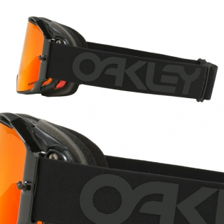 Oakley Airbrake MX Goggles - Factory Pilot Blackout Prizm Torch Image 3