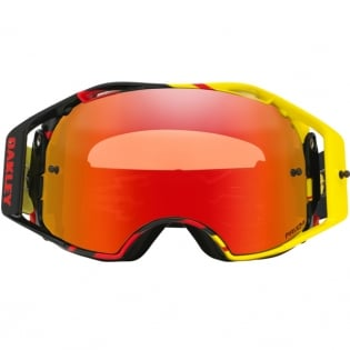Oakley Airbrake MX Goggles - High Voltage Red Yellow Prizm Image 2