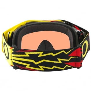 Oakley Airbrake MX Goggles - High Voltage Red Yellow Prizm Image 4