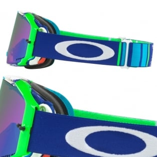 Oakley Airbrake MX Goggles - Pinned Race Blue Green Prizm Image 3