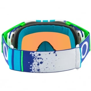 Oakley Airbrake MX Goggles - Pinned Race Blue Green Prizm Image 4