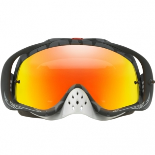 Oakley Crowbar Goggles - Troy Lee Designs Megaburst Black Iridium Image 2