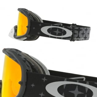 Oakley Crowbar Goggles - Troy Lee Designs Megaburst Black Iridium Image 3