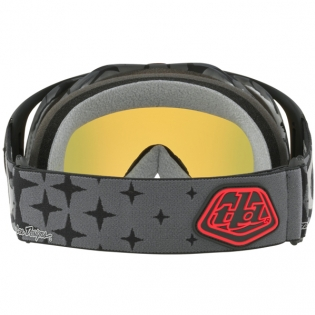 Oakley Crowbar Goggles - Troy Lee Designs Megaburst Black Iridium Image 4