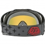 Oakley Crowbar Goggles - Troy Lee Designs Megaburst Black Iridium