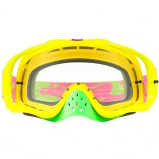 Oakley Crowbar Goggles - Thermo Camo Pink Yellow Green Image 2