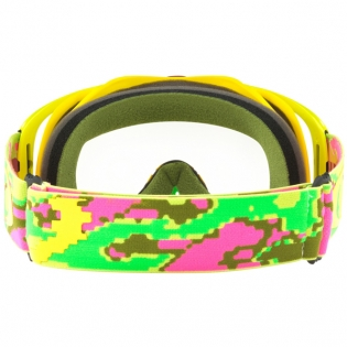 Oakley Crowbar Goggles - Thermo Camo Pink Yellow Green Image 4