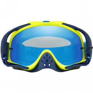 Oakley Crowbar Goggles - Thermo Camo Blue Yellow Black Ice Iridium Image 2