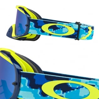 Oakley Crowbar Goggles - Thermo Camo Blue Yellow Black Ice Iridium Image 3