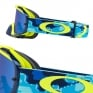 Oakley Crowbar Goggles - Thermo Camo Blue Yellow Black Ice Iridium
