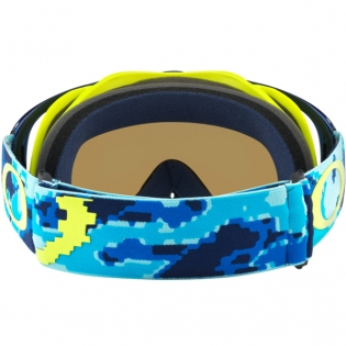 Oakley Crowbar Goggles - Thermo Camo Blue Yellow Black Ice Iridium Image 4