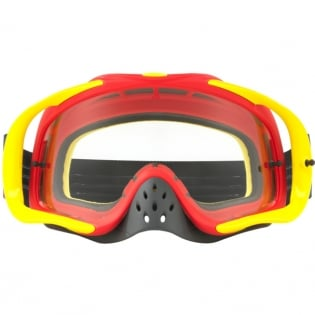 Oakley Crowbar Goggles - Shockwave Red Yellow Blue Image 2