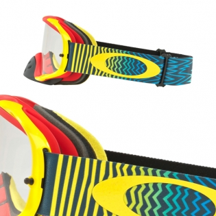 Oakley Crowbar Goggles - Shockwave Red Yellow Blue Image 3