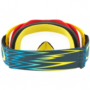 Oakley Crowbar Goggles - Shockwave Red Yellow Blue Image 4