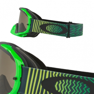 Oakley Crowbar Goggles - Shockwave Green Grey Image 3