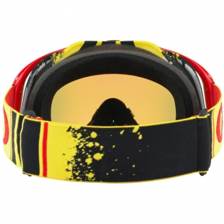 Oakley Crowbar Goggles - Pinned Race Red Yellow Fire Iridium Image 4