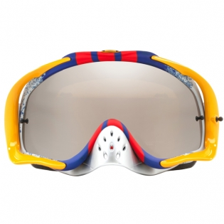 Oakley Crowbar Goggles - Pinned Race Red Blue Black Iridium Image 2