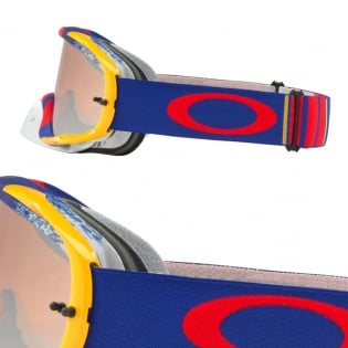 Oakley Crowbar Goggles - Pinned Race Red Blue Black Iridium Image 3