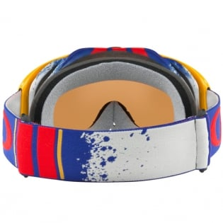 Oakley Crowbar Goggles - Pinned Race Red Blue Black Iridium Image 4