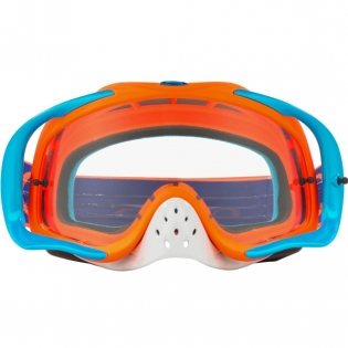 Oakley Crowbar Goggles - Flo Orange Blue Image 2