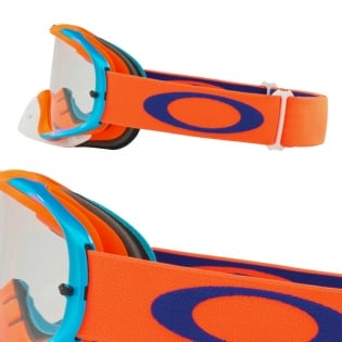 Oakley Crowbar Goggles - Flo Orange Blue Image 3