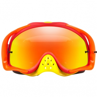 Oakley Crowbar Goggles - Flo Blue Red Fire Iridium Image 2