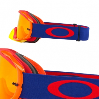 Oakley Crowbar Goggles - Flo Blue Red Fire Iridium Image 3