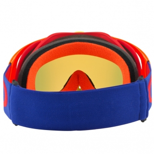 Oakley Crowbar Goggles - Flo Blue Red Fire Iridium Image 4