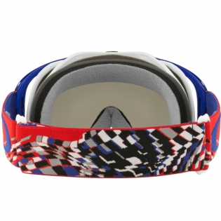 Oakley Crowbar Goggles - Checked Finish Red White Blue Image 4