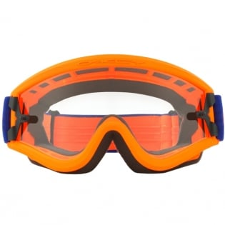 Oakley L Frame OTG Goggles - Flo Orange Blue Image 2
