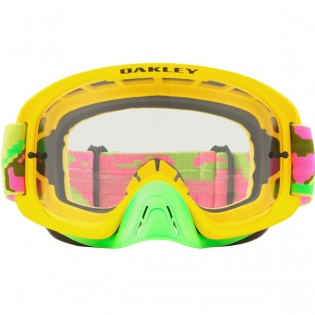 Oakley O Frame 2.0 Goggles - Thermo Camo Pink Yellow Green Image 2