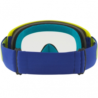 Oakley O Frame 2.0 Goggles - Flo Lime Blue Clear Image 4