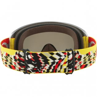 Oakley O Frame 2.0 Goggles - Checked Finish Red Yellow Grey Image 4