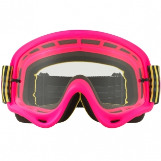 Oakley O Frame Goggles - Shockwave Flo Pink Yellow Green Image 2