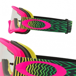 Oakley O Frame Goggles - Shockwave Flo Pink Yellow Green Image 3