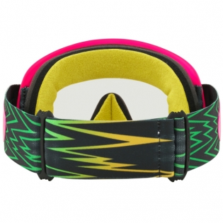 Oakley O Frame Goggles - Shockwave Flo Pink Yellow Green Image 4